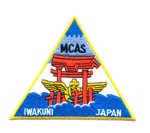 US MARINE CORPS AIR STATION IWAKUNI JAPAN MCAS Military Patch