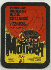 LEATHER MOTHRA CULT CLASSIC SCI FI HORROR FILM MOVIE POSTER PATCH