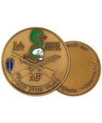 MP Sniper School Challenge Coin