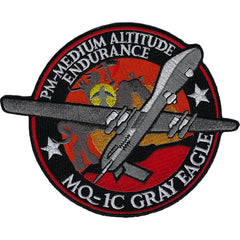 MQ-1C Gray Eagle UAS Military Patch