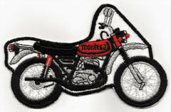 Montesa Motorcycle Vintage Patch