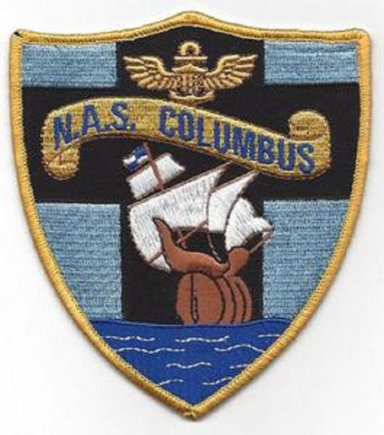 Naval Air Station NAS COLUMBUS OHIO Military Patch