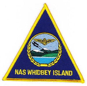 US NAVAL AIR STATION NAS WHIDBEY ISLAND WASHINGTON MILITARY PATCH