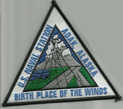 Naval Air Station NAS ADAK ALASKA Military Patch