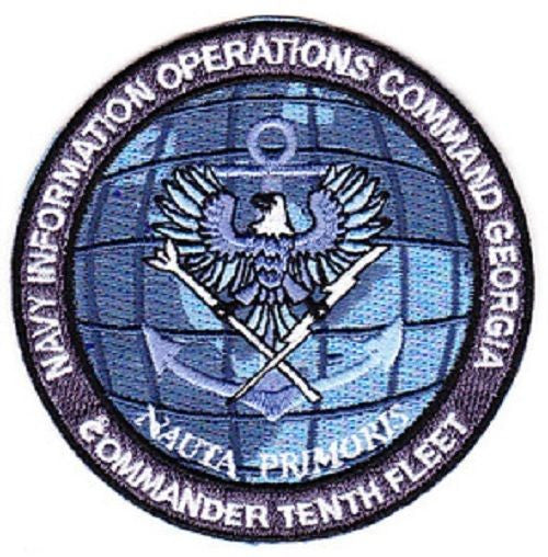 NAVY Commander Tenth Fleet Information Operations Command Georgia Military Patch 10th Fleet NAUTA PRIMORIS  sc 1 st  usmilitarypatch.com & NAVY Commander Tenth Fleet Information Operations Command Georgia ...
