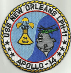 APOLLO 14 LPH-11 USS NEW ORLEANS Amphibious Assault Ship