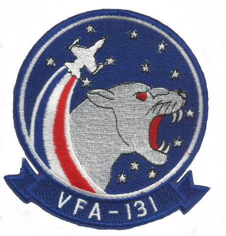 NAVY VFA-131 Aviation Strike Fighter Attack Squadron Military Patch WILD CATS