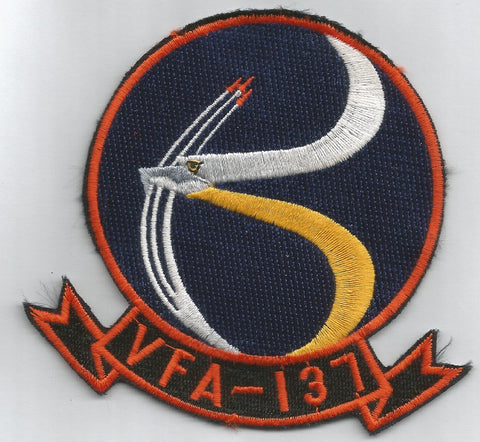 NAVY VFA-137 Aviation Strike Fighter Attack Squadron Military Patch KESTRELS