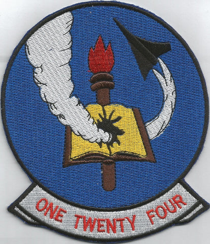 NAVY VF-124 Aviation Fighter Squadron F-8 Military Patch GUNFIGHTERS