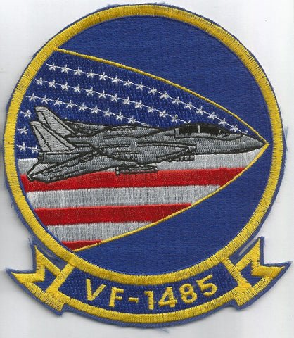 NAVY VF-1485 Fighter Squadron Military Patch FFIGHTING FUBIJARS