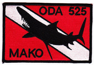 ARMY 1st Battalion 5th Special Forces Group Operational Detachment Alpha ODA 525 Military Patch MAKO