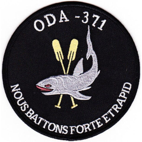 ODA 371 Scuba Scout Swimmer Operational Detachment Alpha Military Patch