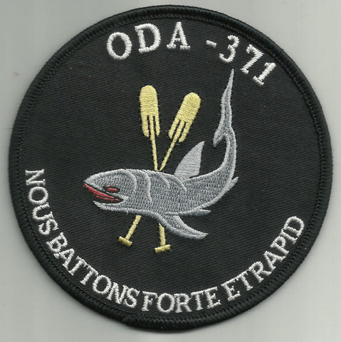 3rd Special Forces Group Airborne SFGA ODA 371 SCUBA Maritime Swimmer MILITARY PATCH