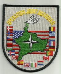 OPERATION JOINT GUARDIAN NATO CONTINGENCY RESPONSE FORCE IN KOSOVO MILITARY PATCH