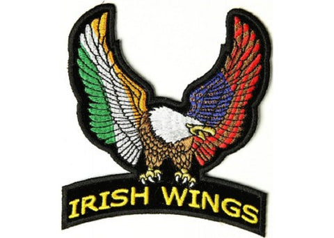 IRISH WINGS EAGLE PATCH