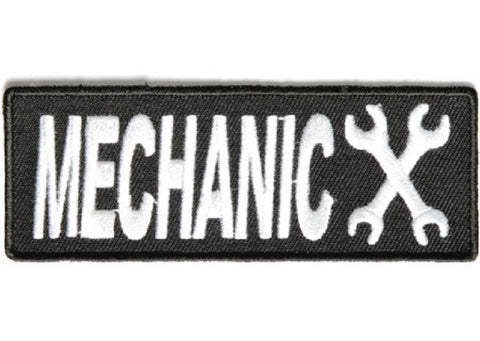 MECHANIC BIKER PATCH