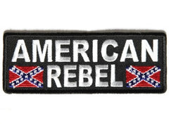 AMERICAN REBEL CONFEDERATE FLAGS PATCH