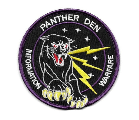 PANTHER DEN Information Warfare USAF Collectors Patch