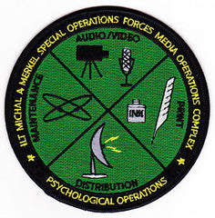 Most sinisters psyops mission patches from us secrets missions.