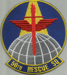 USAF - 56th RESCUE SQUADRON MILITARY PATCH 56 RESCUE SQ