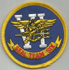 NAVY SEAL TEAM SIX MILITARY PATCH