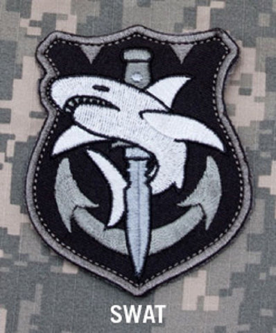 TACTICAL SHARK Hook Backing Patch - SWAT