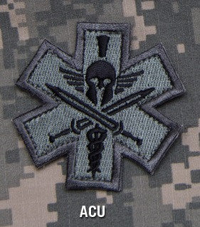 TACTICAL COMBAT MEDIC BADGE SPARTAN - ACU