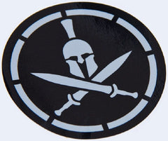 SPARTAN STENCIL TACTICAL MORALE STICKER