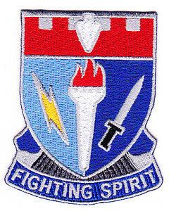 ARMY 26th Infantry Brigade Combat Team Special Troop Battalion Military Patch FIGHTING SPIRIT STB-47