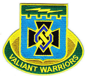 ARMY 1st Infantry Brigade Combat Team 1st Infantry Division Special Troop Battalion Military Patch VALIANT WARRIORS STB-49