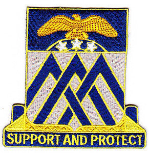 ARMY 29th Infantry Division Special Troop Battalion Military Patch SUPPORT AND PROTECT STB-68