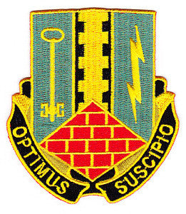 ARMY 2nd Brigade Combat Team 1st Armor Division Special Troop Battalion Military Patch OPTIMUS SUSCIPIO STB-80