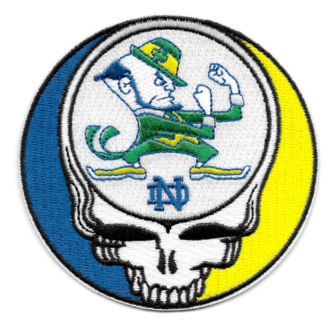 Steal Your Face Fighting Irish Dead Head Patch