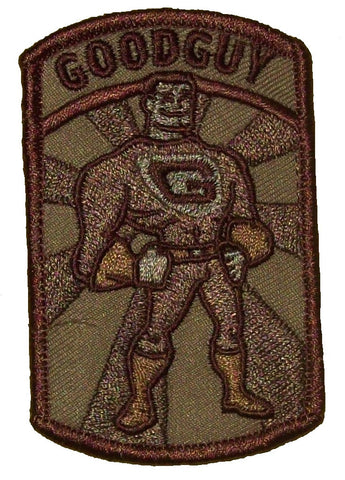 GOODGUY DESERT SPECIAL OPS TACTICAL COMBAT BADGE MORALE VELCRO MILITARY PATCH