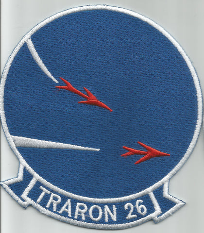 United States NAVY VT-26 Aviation Air Torpedo Squadron Military Patch TRARON 26