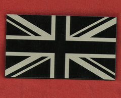 BRITISH UK FLAG IR COVERT VELCRO PATCH - TAN