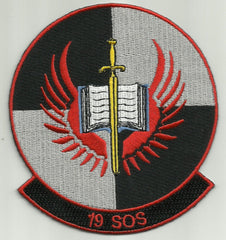 USAF 19th Special Operations Squadron Military Patch - 19th SOS