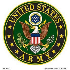 UNITED STATES ARMY LOGO STICKER