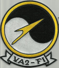 NAVY VA2-F1 Attack Squadron Special Operation Flight FOXTROT One Military Patch