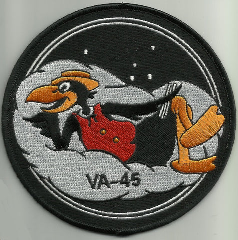 NAVY VA-45 Attack Squadron Forty Five Military Patch BLACKBIRDS