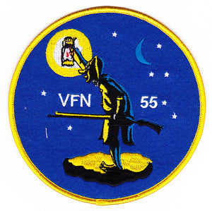 VFN-55 US Navy Aviation Night Fighter Squadron Military Patch