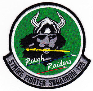 NAVY VFA-125 Aviation Strike Attack Fighter Squadron Military Patch ROUGH RAIDERS