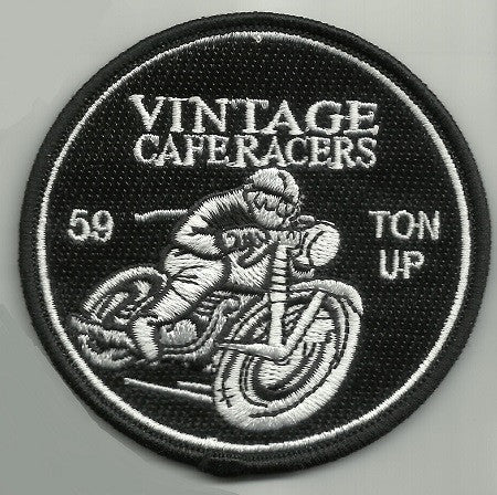 VINTAGE CAFE RACER - 59 TON UP PATCH