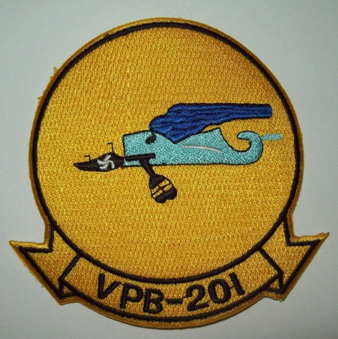 VPB-201 Aviation Patrol Bombing Squadron Navy Patch