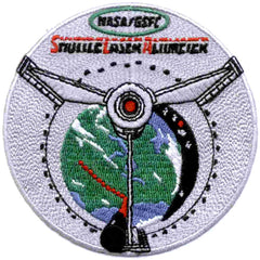 STS-72 Space Shuttle Endeavour Gsfc Shuttle Laser Altimeter Deployment NASA Patch