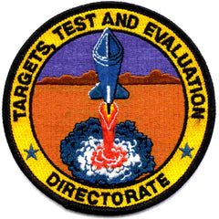 DOD Targets, Test And Evaluation Directorate NASA Military Patch