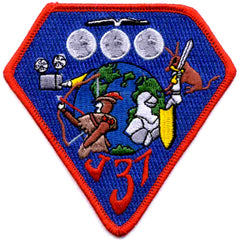 SP-273 NASA Lockheed J37 Turboprop Engine Patch