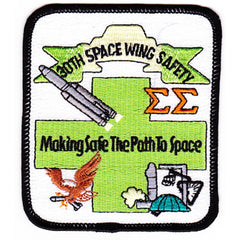 SP-258 ESA European Space Agency 30th Space Wing Safety Office Patch