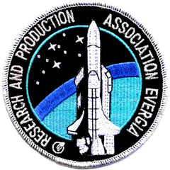 SP-256 NASA Association Evergia Research And Production Center Patch