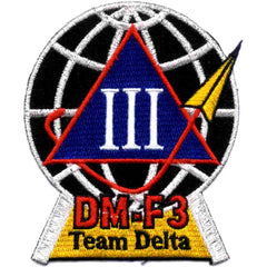 SP-272 NASA Delta Mission Flight Three Targeting Satellite Patch